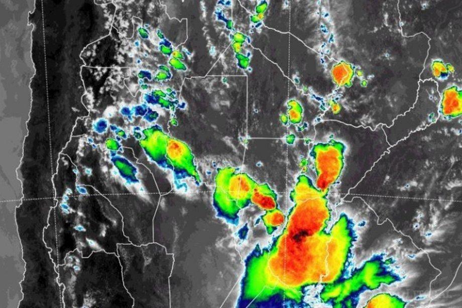 Alerta por tormentas para 10 localidades correntinas