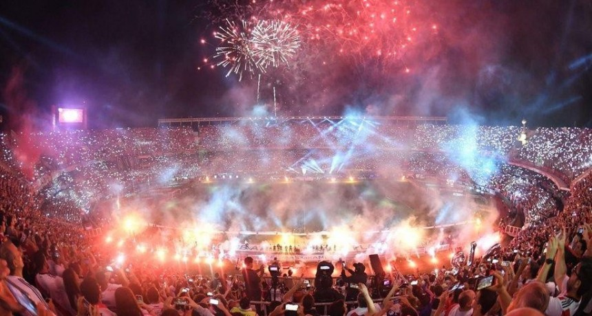 River festejó a lo grande el primer aniversario del triunfo ante Boca en Madrid