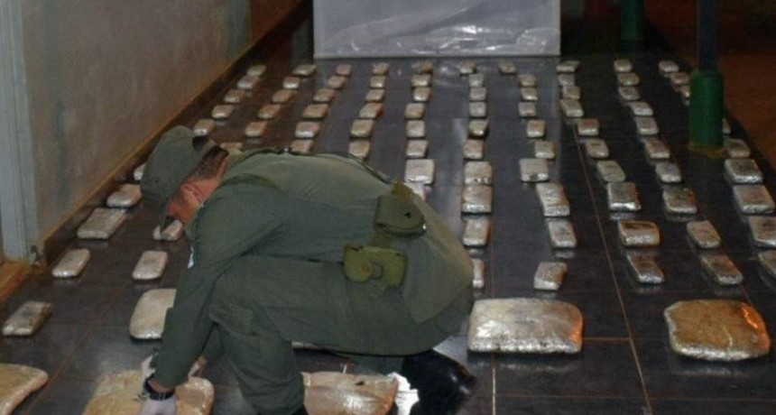 Detuvieron a dos personas con 69 kilos de marihuana