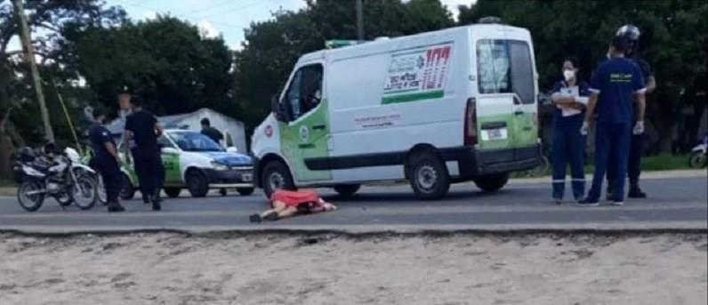 Un camión arrolló a una mujer por la ruta provincial 5