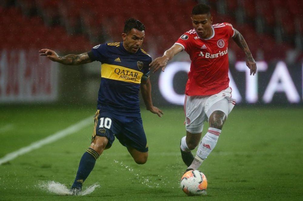 Con gol de Tevez, Boca logró un importante triunfo ante el Inter