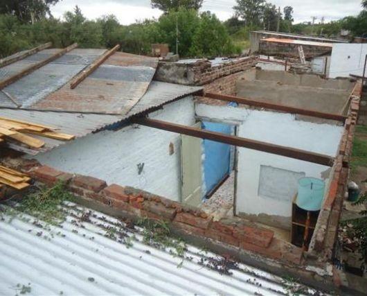 Desesperado pedido desde San Carlos: hay más de 200 familias afectadas por el temporal