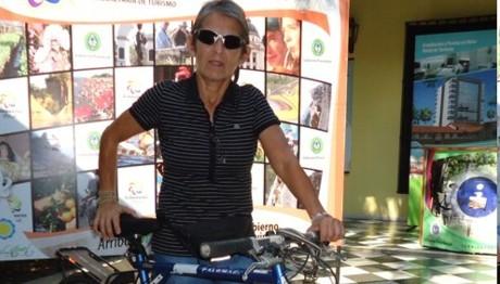 Silvia Córdoba rescata poder seguir con el deporte de aventura a los 60