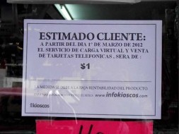Dictaron una disposición para prohibir el cobro de sobreprecios en la venta de tarjetas telefónicas