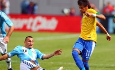 En el último minuto Neymar le dio el triunfo a Brasil ante Argentina