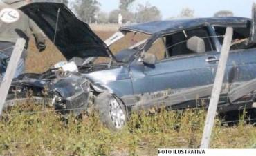 Accidente fatal cerca del acceso a Santo Tomé