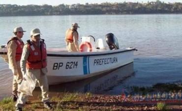 Hallan el cuerpo sin vida del peón arrastrado por la corriente en el río Aguapey