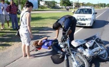 Muchos heridos por siniestros viales durante el fin de semana