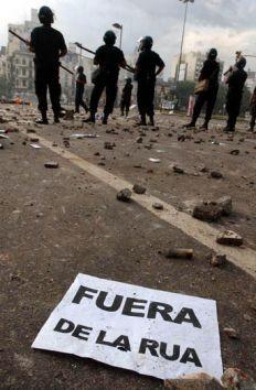 La Justicia confirmó el sobreseimiento a De la Rúa por la masacre de 2001