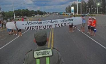 Itatí: cansados de los cortes, 200 personas cortaron la Ruta 12