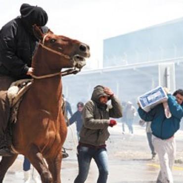 Cóctel de saqueos y gendarmes en Bariloche