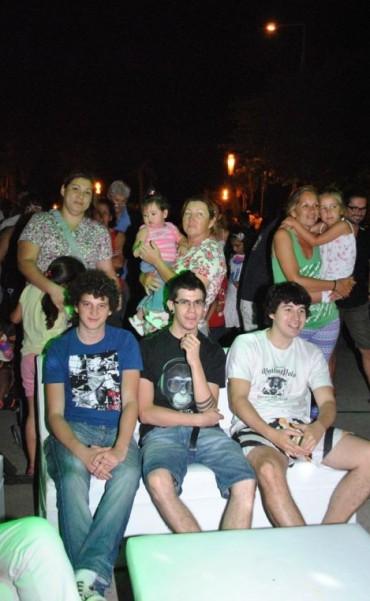 Fue la primera noche de sapucay, junto al Paraná
