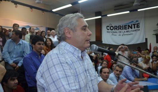 Fabián Ríos minimizó versiones que vinculan a intendentes del PJ con Eco