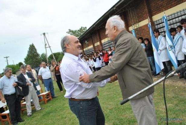 Colombi inauguró línea de electrificación rural y anunció obras para parajes de Sauce