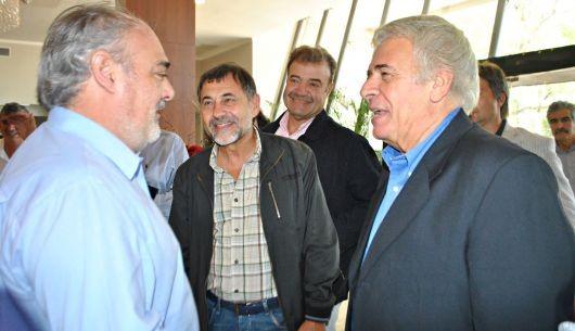 El gobernador Ricardo Colombi recibió a De la Sota