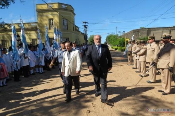Berón de Astrada festejó con arreglos en escuelas y entrega de insumos a entidades