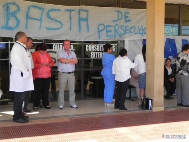 Hospital de Santo Tomé: dieron 20 contratos y ratificaron inversiones