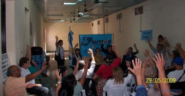 Suteco abre un impasse y pide retomar las negociaciones con el Gobierno