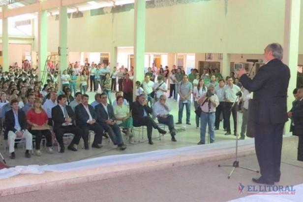 San Luis: con el estreno de un IFD, Colombi destacó la educación y el crecimiento local