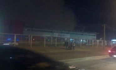 Se incendió un supermercado y se produjeron grandes pérdidas
