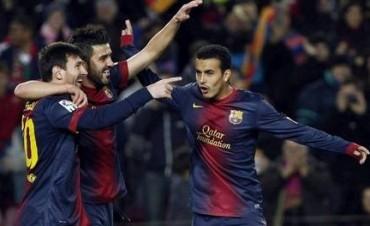 Barcelona dio cátedra con un Messi tremendo