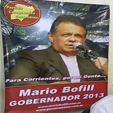 Mario Bofill lanzó su candidatura a Gobernador