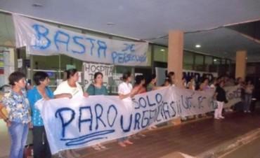 Trabajadores del hospital de Santo Tomé acordaron realizar un paro de 48 horas