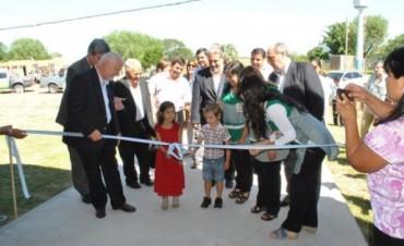 Colombi habilitó escuelas en la zona rural de Goya y garantizó la inserción educativa