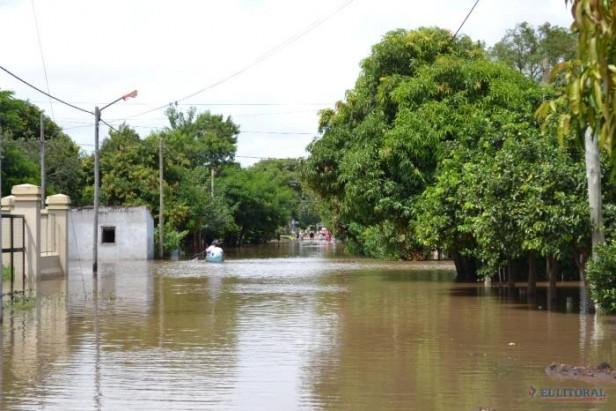 Por el cambio climático, Greenpeace alerta sobre inundaciones en el NEA