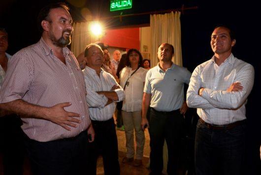 Camau visitó Perugorría y continúa su marcha hacia la contienda electoral