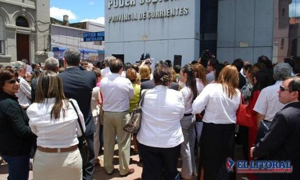 Gobierno y Justicia correntina plantearon sus objecciones al proyecto de reforma