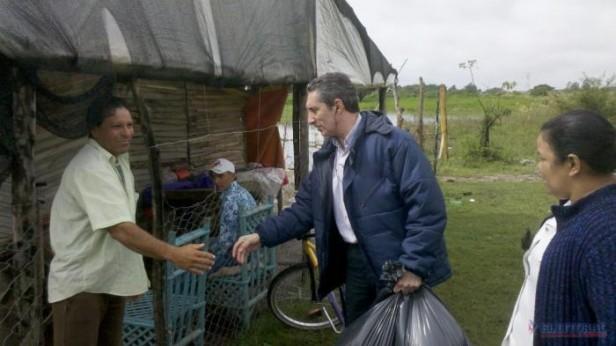 Algunas localidades se recuperan de las lluvias y en otras evacuaron familias por inundaciones