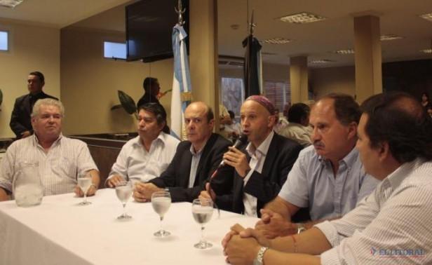 Bergman apoyó la unión de fuerzas anti-K en Corrientes y llamó a defender la Constitución