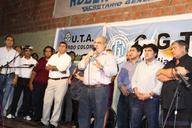 Candidatos de ECO y del FPV coinciden en la apuesta al sindicalismo encolumnado