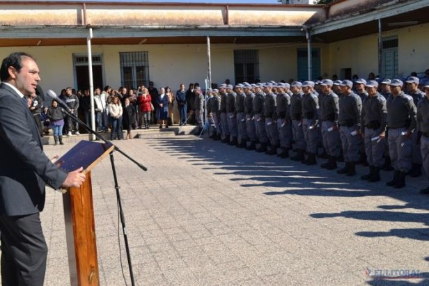 Incorporaron a 108 agentes al Servicio Penitenciario