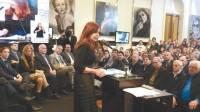 Cristina anunció aumentos en la AUH y las asignaciones familiares