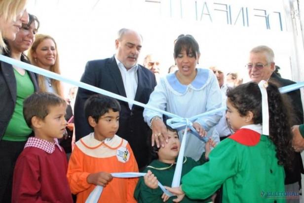 Itatí: Colombi inauguró un jardín y firmó convenios para obras por $10 millones