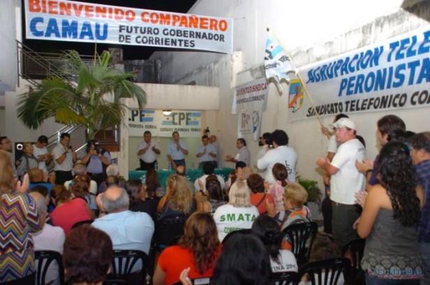 Gremios impulsan una colectora en apoyo a la candidatura de Camau