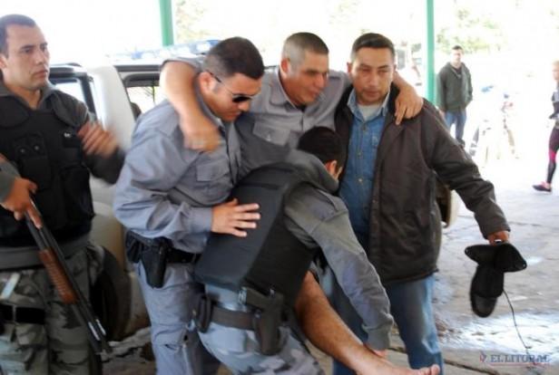 Revuelta en la Unidad Penal Nº6 culminó con penitenciarios e internos heridos