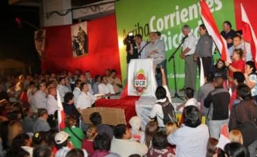 Colombi apeló al legado patriótico de los correntinos para derrotar al kirchnerismo