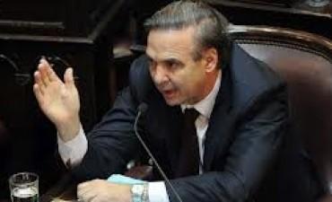 Pichetto reavivó el proyecto de intervención judicial