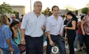 Camau y Fabián Ríos recorrieron el Ponce en una jornada de trabajo