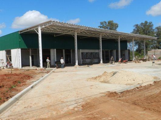 A ritmo sostenido avanza la construcción de la terminal